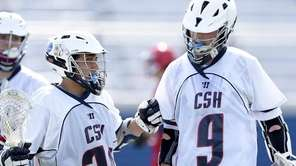 Cold Spring Harbor attacker Colin Burke (9) is