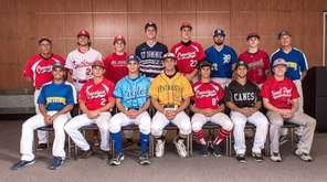 Newsday's 2015 All-Long Island baseball team poses at