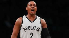 Nets guard Randy Foye, here against the Knicks