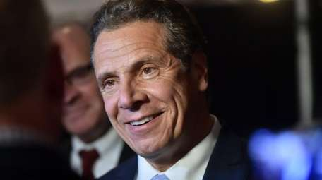 Gov. Andrew M. Cuomo, seen on Nov. 10,