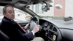 John Ruocco, inventor of Interceptor Ignition Interlock, demonstrates