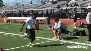 Highlights from the Long Island high school combine