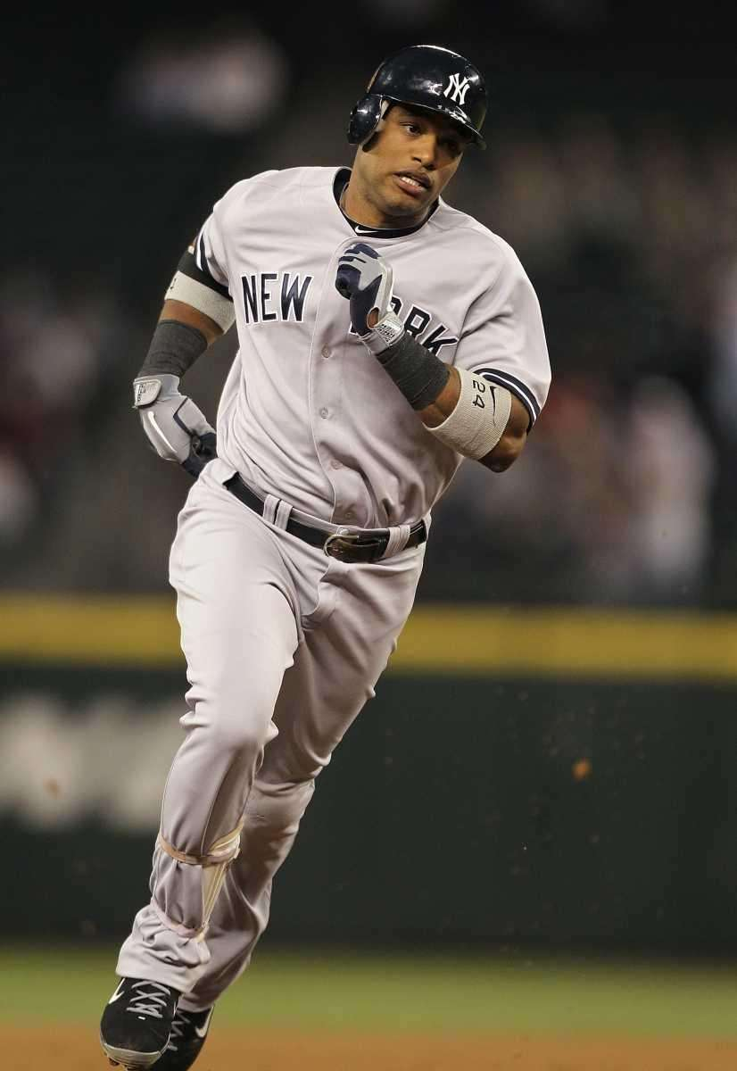 Robinson Cano #24 of the New York Yankees