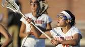 Manhasset attacker Halle Majorana calls for the ball