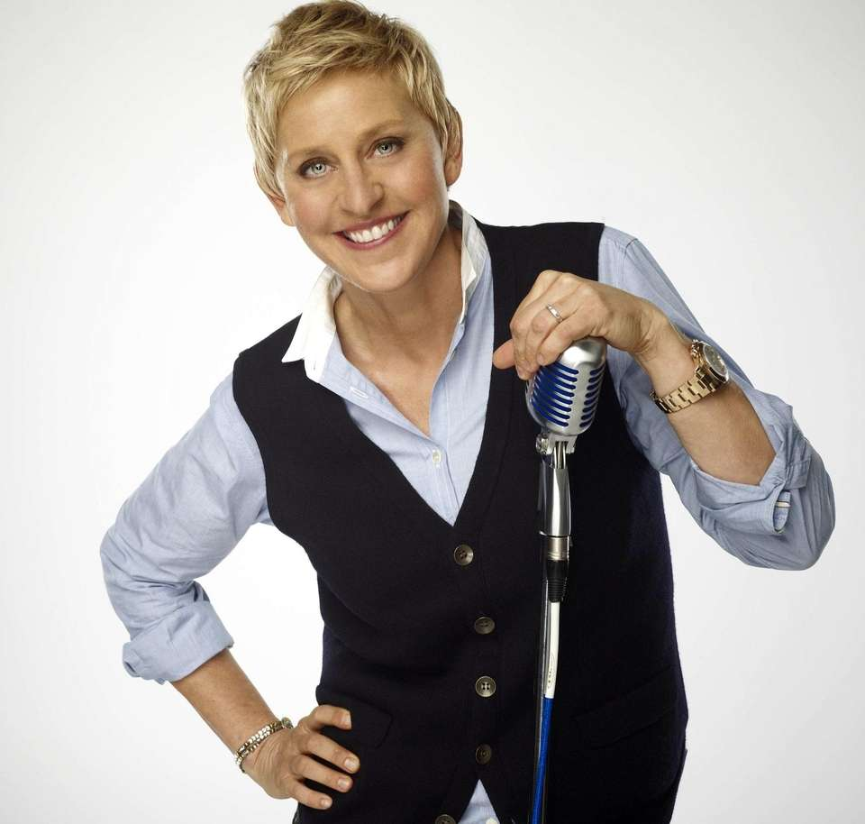 "Name: Ellen DeGeneres Animated character: Dory in ""Finding"