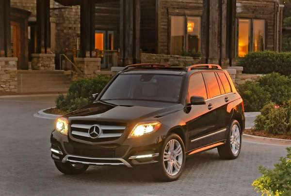The GLK, which is based on the entry-level