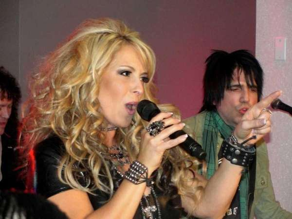Plainview's own Lisa Matassa performed at the release