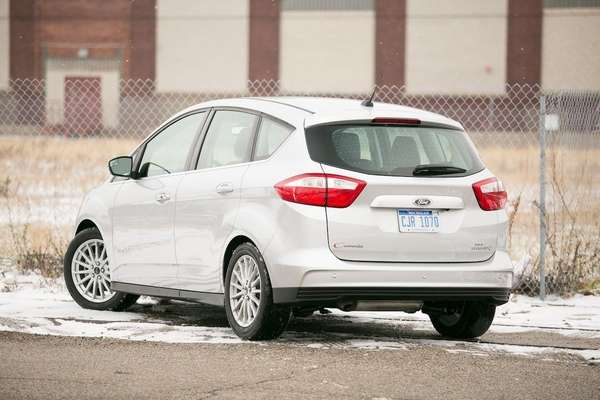 The 2013 Ford C-Max Hybrid shares platforms with