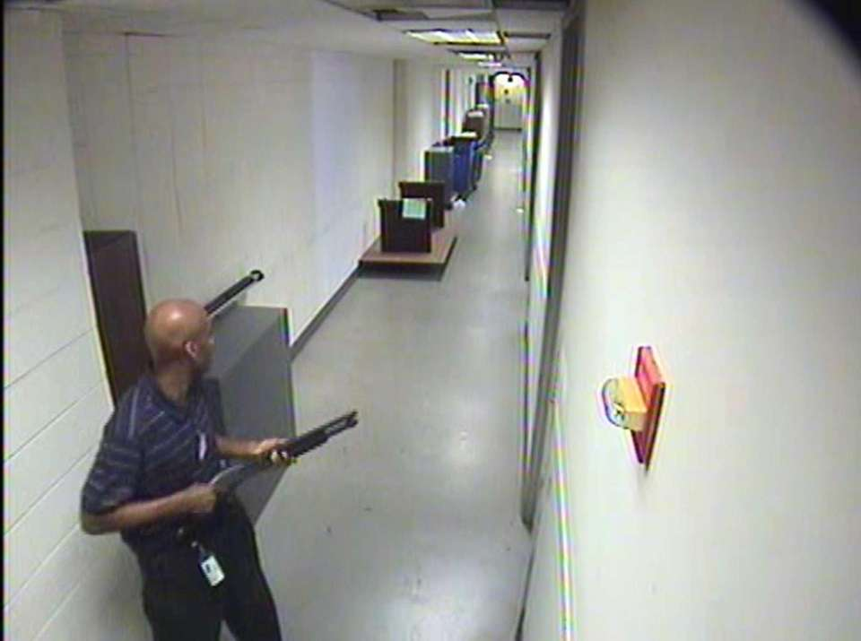 This image, taken from security cameras and released