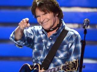 Musician John Fogerty performs at The Paramount in