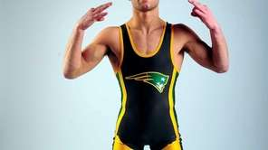 Portrait of Ward Melville wrestler Nick Piccininni in
