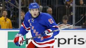 Keith Yandle of the Rangers skates against the
