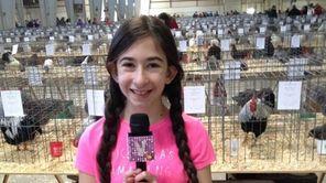 Victoria Bonavita, 11, a sixth-grader at Robert Moses