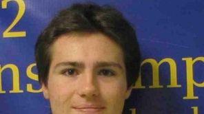 William Loughlin, 17, a senior at Plainedge High