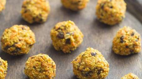 The carrot raisin cookie bites recipe can be