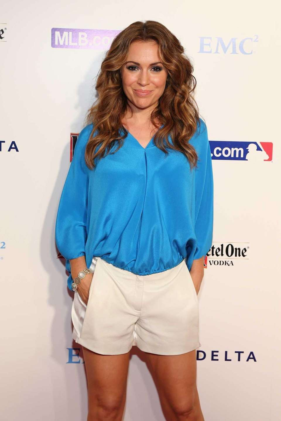 Actress Alyssa Milano has been a longtime supporter