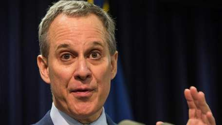 NYS Attorney General Eric T. Schneiderman, seen here