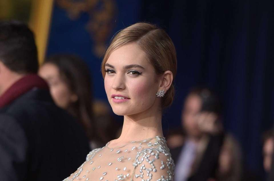 Lily James (