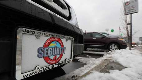 Security Dodge pre-owned cars are pictured in a