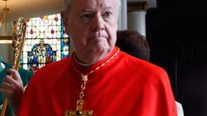 Cardinal Edward Egan, former archbishop of New York,