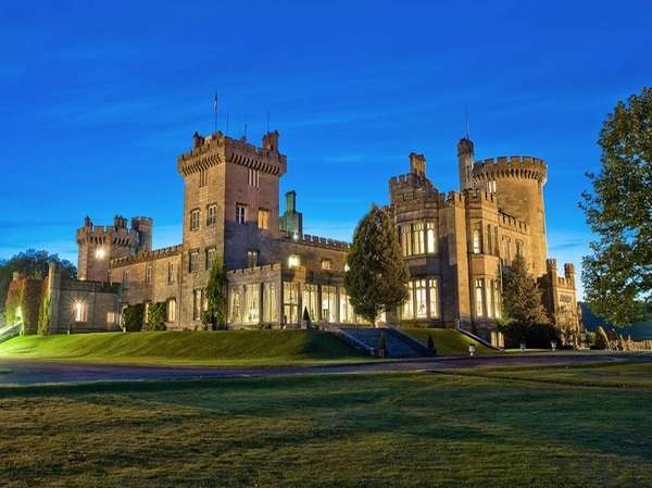 The 16th century Dromoland Castle in Clare, Ireland,