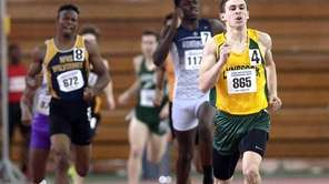 Lynbrook's Luke Germanakos, right, pulls away from the