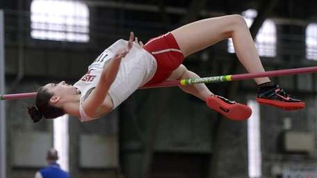 East Islip's Faith Penny competes in the high