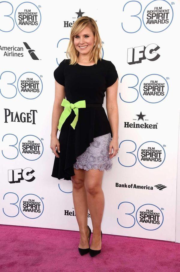 Host Kristen Bell arrives at the 2015 Film