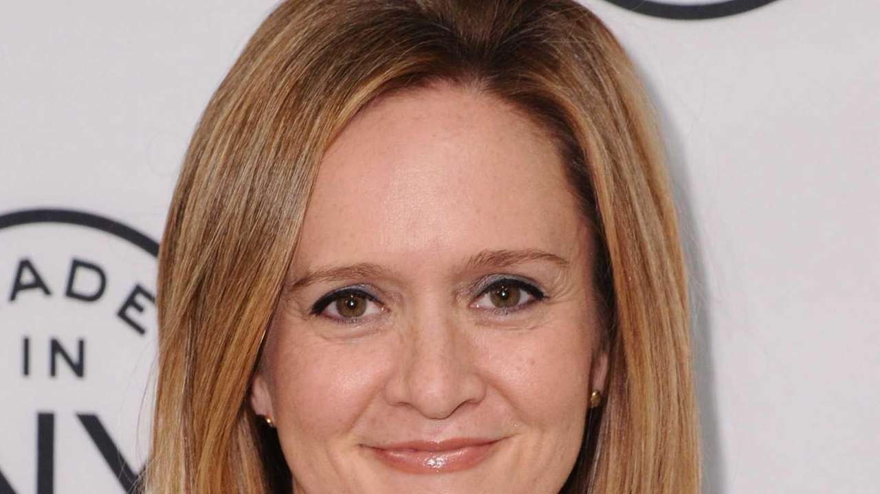 "Samantha Bee, a correspondent for ""The Daily Show"""