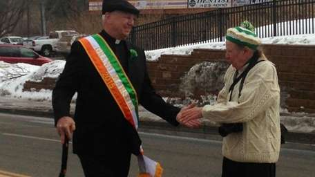 The 2015 Huntington St. Patrick's Day Parade grand