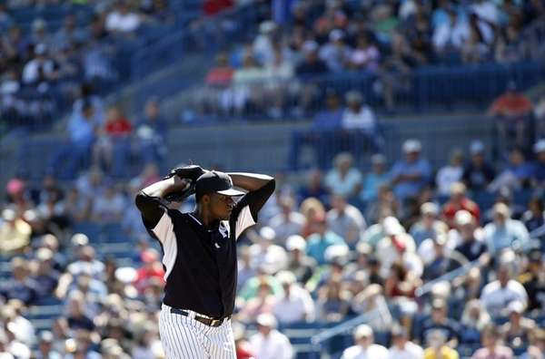 Michael Pineda of the New York Yankees delivers