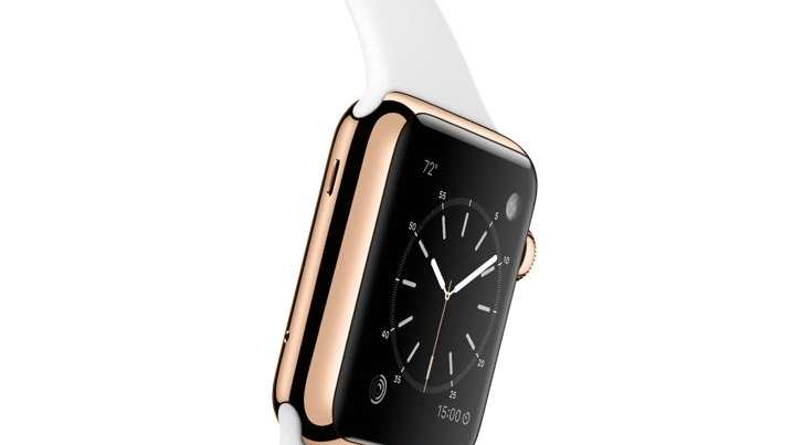 The 18-karat gold Apple Watch costs $10,000.