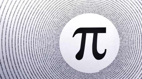 March 14 is World Pi Day. pi symbol