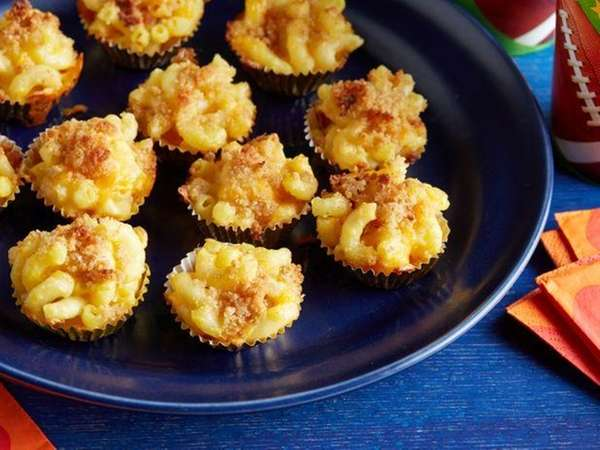 The mac 'n' cheese bites recipe can be