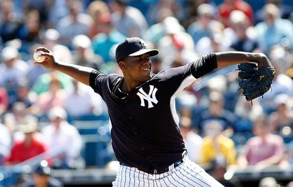 Pitcher Michael Pineda of the New York Yankees