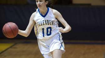 Kate Calabro of Kellenberg dribbles the ball during
