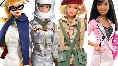 A look back at Barbie's many looks and