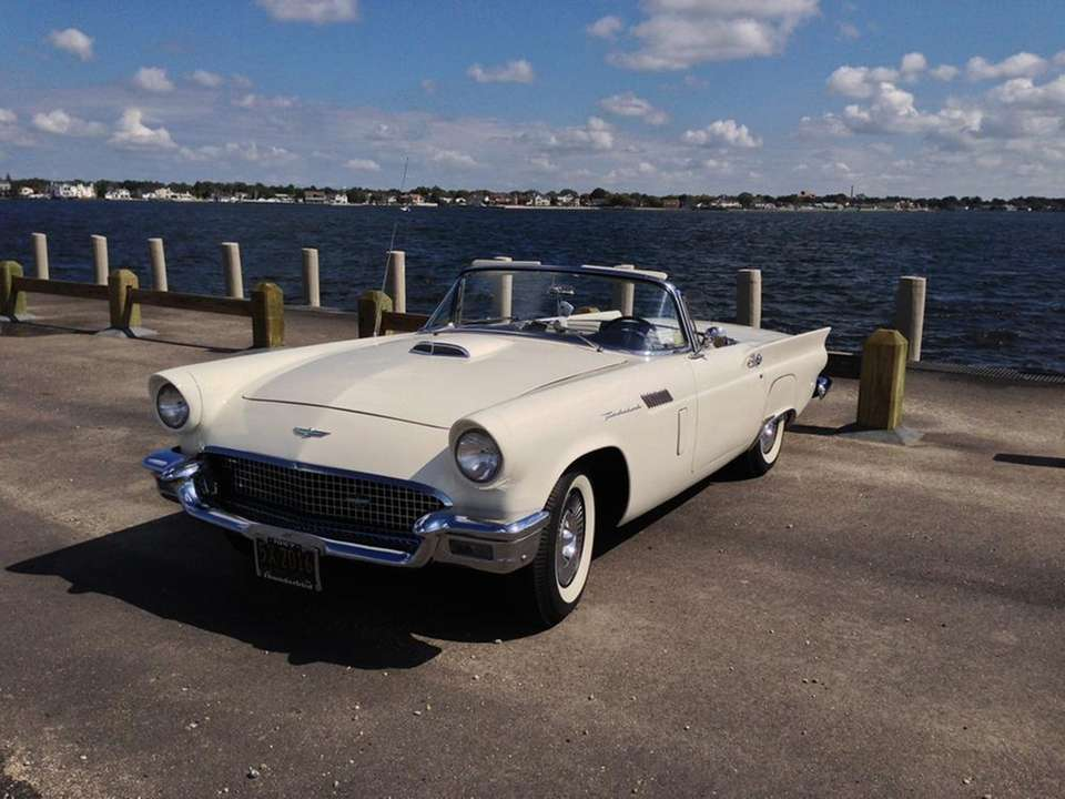 This 1957 Ford Thunderbird has been owned by
