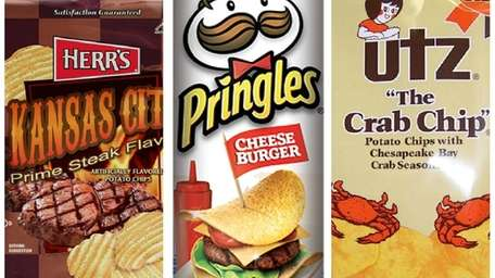 Weird potato chip flavors you have to try.