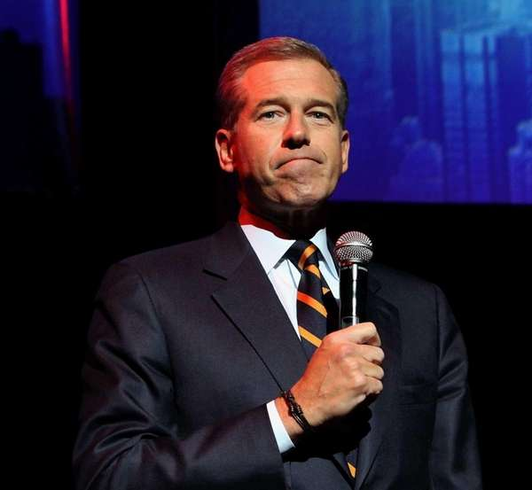 The recollections of NBC anchor Brian Williams, above,