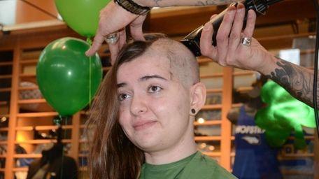 Hofstra University junior Loulou Katz, 21, of Manhattan,