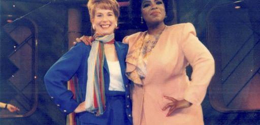 "Gail Sheehy appears on ""The Oprah Winfrey Show"""