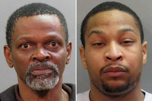 Edward Brooks, 57, of Brentwood, left, and Joshua