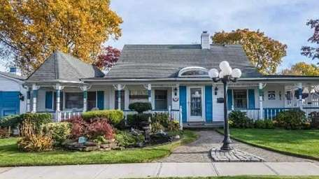 This Victorian-style house was once a standard Levittown