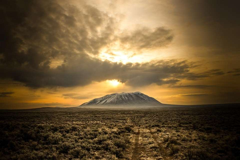 Big Southern Butte in Idaho is one of
