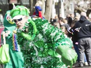 The Am O'Gansett St. Patrick's Day Parade is