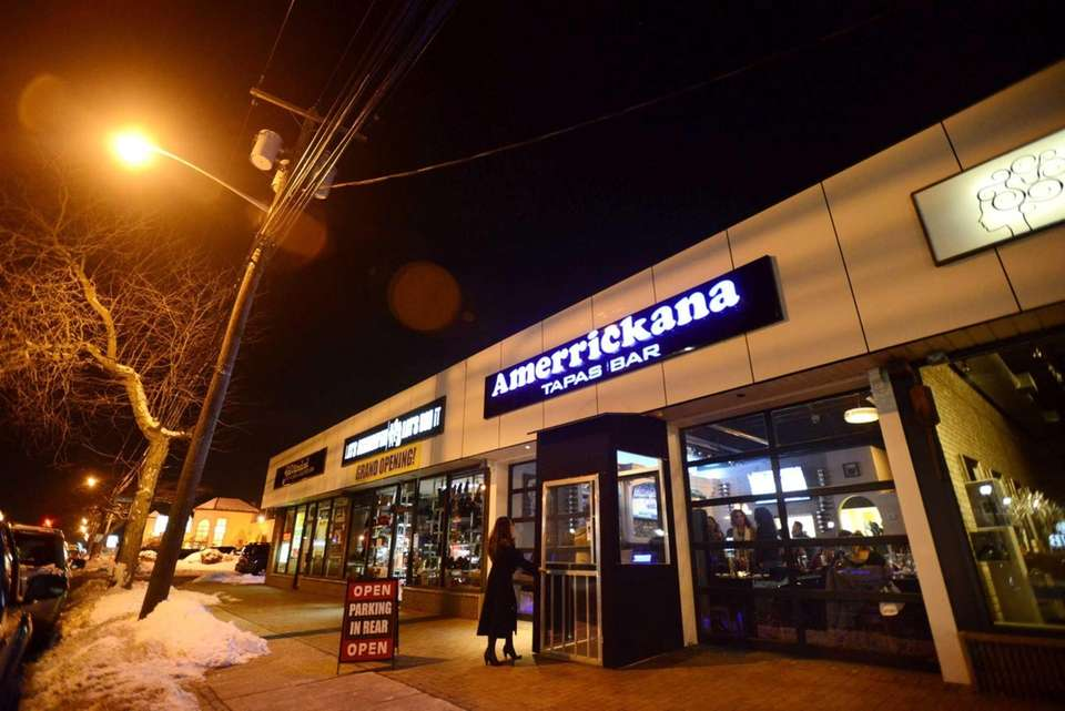 Amerrickana Tapas & Bar in Merrick focuses on