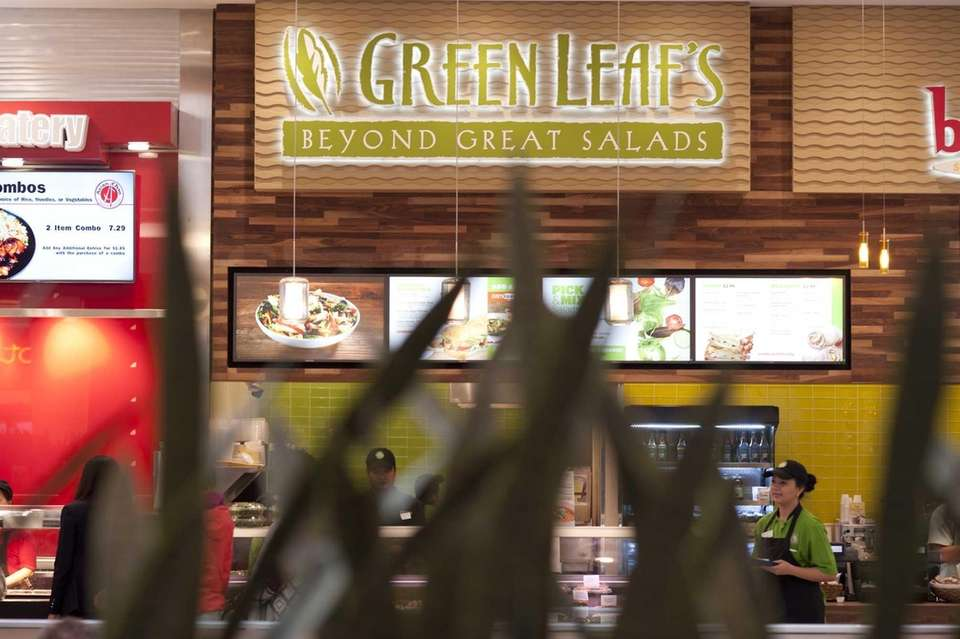 Salads and sandwiches are the draw at Green
