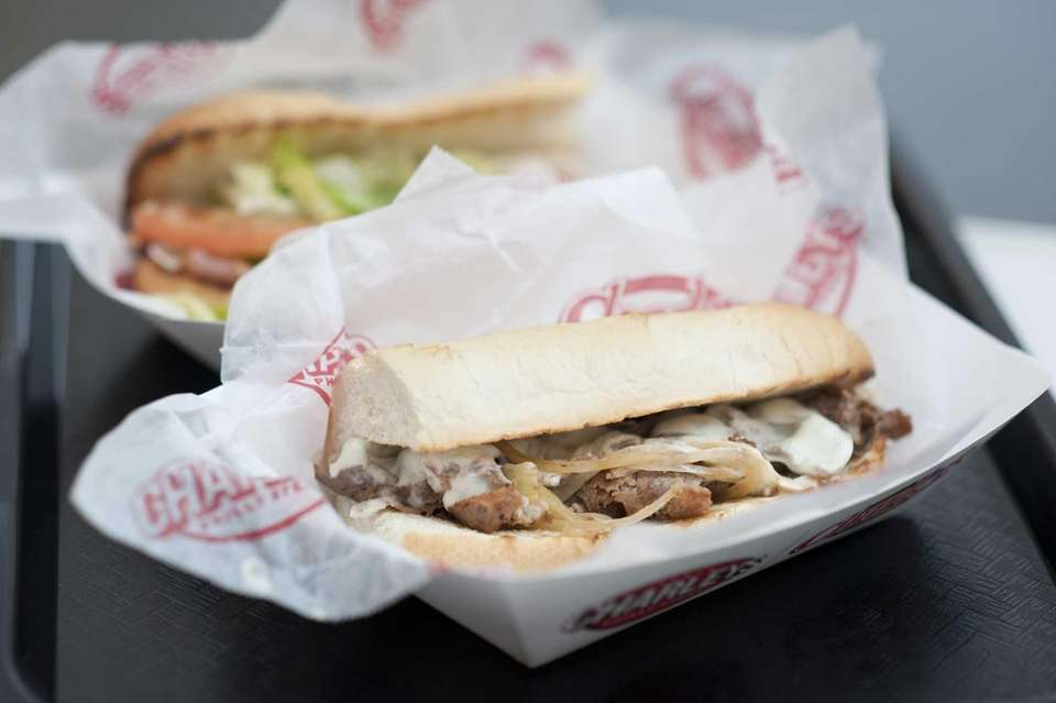 At Charley's Philly Steaks, the Philly cheesesteak with