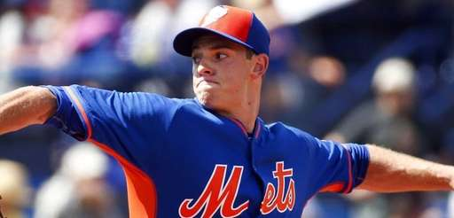 New York Mets starting pitcher Steven Matz works